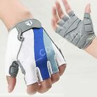Unisex Sports Bicycle Bike Motorcycle Gel Silicone Half Finger Fingerless Glove