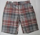 GAP Men's Gray Plaid Flat Front Short Waist Sizes 40 Waist NWT