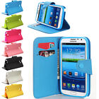 Hybrid Flip PU Leather Wallet Card Case Cover For Samsung Galaxy Note 2 II N7100