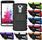 NEW GRENADE GRIP RUGGED TPU SKIN HARD CASE COVER STAND FOR LG G3 VIGOR MINI BEAT