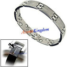 MENS MAGNETIC HEALTH TITANIUM GOLF GOLFER BRACELET T6