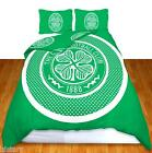 CELTIC FC DOUBLE BED DUVET QUILT COVER GENUINE BULLSEYE FOOTBALL BEDDING SET