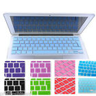 "UK EU Silicone Keyboard Cover Skin for Apple Macbook Pro Air 11""13""15""17""Colors"