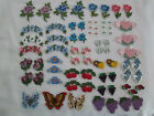 Sew or Glue on Appliques - YOUR CHOICE- Flowers, Fruits, Hearts Butterflies