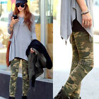 Fashion Women Sexy Camouflage Army CAMO Stretchy Leggings Skinny Pencil Pants