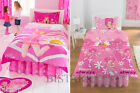 LAZY TOWN DUVET COVER & PILLOW CASE BED SET STEPHANIE SINGLE KIDS CARTOON GIRLS