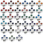 New NFL All Teams Car Truck SUV Van Plastic Chrome Finish Tire Valve Stem Caps $12.49 USD on eBay
