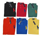 RL Polo Ralph Lauren Mens Custom Fit Slim Big Pony #3 Knit Button Shirt S M L XL