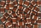 Hand Painted Ceramic Beads 10mm Football Design, New