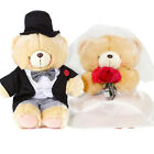 FOREVER FRIENDS WEDDING DAY SOFT PLUSH BEARS BRIDE GROOM GIFT TOY