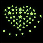 Glow In The Dark Stars Stickers Home Wall Ceiling Decal Baby Kids Bedroom