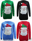 New Kids XMAS Unisex Novelty Santa Merry Christmas Jumpers 7-12 Yrs.