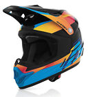 Acerbis 2015 impact childrens offroad quad motocross helmet orange blue