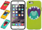 For Apple iPhone 6 4.7 Monster TPU CANDY Gel Hard Flexi Skin Case + Screen Guard