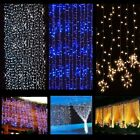 416/832/1248/2400 LED Fairy String Curtain Lights for Halloween Christmas Party