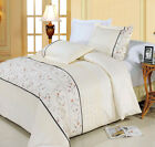 Anna Embroidered 8-PC Bed in a Bag 100% Egyptian Cotton