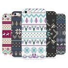 HEAD CASE FAIR ISLE WINTER PRINTS GEL BACK CASE COVER FOR APPLE iPHONE 5S