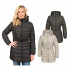 Trespass SNOWGLOBE Womens Ladies Hooded Long Length Casual Coat Jacket