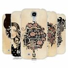 HEAD CASE INTROSPECTION GEL BACK CASE COVER FOR SAMSUNG GALAXY S4 I9500