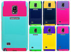 Samsung Galaxy Note 4 NEST HYBRID HARD Case Rubber Phone Cover +Screen Protector