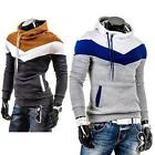 Men's Sweater Hoodie Hooded Jacket Leisure Long Sleeve Outwear Sweatshirt  F38