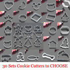 Cutters Heart Star Round Wave Square Shape Biscuit Cake Cookie Mold Mould Tool