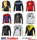 Superhero Costume Tee Spiderman Captain America Superman T-Shirt Sports Jersey  image