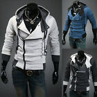 Korean Men's Fashion Slim Fit Long Sleeve Casual Hooded Hoodies Coat Jacket Tops