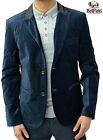 New Mens Blazer Real Velvet 2 Button Jacket Designer Bellfield Casual Formal