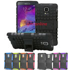 Hybrid Impact Armor Rugged Hard Case Stand Cover For Samsusng Galaxy Note 4 N910