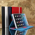 For New Apple iPad Air 5 Stand Premium Leather Case Cover Wake/Sleep w/ Stylus