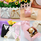100pcs Wedding Anniversary Engagement Party Candy Favour Favors Gift Boxes