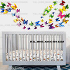 3D Butterfly Wall Decoration Stickers Magnet PVC Art Decal Home DIY Kids Room