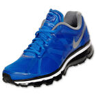 Nike Air Max 2012 + Soar Silver Royal Blue Black 487982 400 Running Mens Shoe