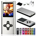 8GB Slim 1.8 Mp3 Mp4 Player With LCD Screen FM Radio & Movie Player 9 Colors ML4