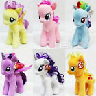 "HOT 7"" My Little Pony Horse Figures Stuffed Plush Soft Teddy Doll Toy Xmas Gift"