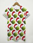 Sprout Hat All Over T Shirt Christmas Gift Ideas Secret Santa Festive Food Funny