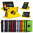 For Amazon Kindle Fire HDX 7 Inch 2013 360 Rotating PU Leather Flip Case Cover