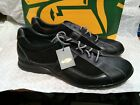 Dt01-c New Nib Havana Joe Men's Black Leather Casual Oxfords Shoes 12 / 46 13 / 47