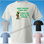 Star Wars WWYD? What Would Yoda Do? T-Shirt Avail. 5 Colors in M/W/Y Sizes