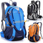 40L Outdoor Sports Backpack Hiking Camping Travel Bag Laptop DayPack +Rain Cover