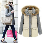 Lady Winter Warm Hoodies Cotton Parka Coat Outerwear Topcoat Jacket Tops XXS~L
