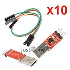 1/2/3/5/10x CP2102 Chip USB zu TTL Konverter Modul Adapter Downloadlinie Modul