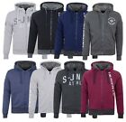 Smith & Jones New Men's Faux Fur Lined Hooded Sweatshirt Warm Fleece Hoodie