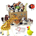 Walking Pet Balloon Animal Airwalker Foil Balloon Helium Kids Fun Party Decor