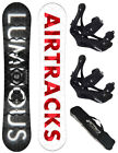 SNOWBOARD SET AIRTRACKS STROKE+SOFTBINDUNG SAVAGE+BAG /145 150 153 159cm/ NEU!