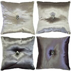 Gatsby Filled Cushion By Kylie Minogue At Home. In Dove, Grape, Oyster & Smoke