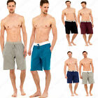 2 Pack Mens Cotton Pyjama Shorts Pants Lounge Cool Trousers Holiday Summer