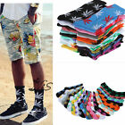 Men Women Plantlife Marijuana Weed Maple Leaf Cotton High Ankles Socks 20 Colors