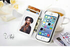 New Flip Leather Wallet Cover Case For Apple iPhone 4 5 5S Free Screen Protector